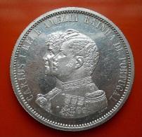 Portugal 1000 Reis 1898 4º Centenário Da Descoberta Da Índia High Grade - Portogallo