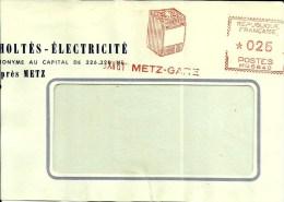 EMA Havas M 1961  Cuisiniere Energie Electrique Electromenager Usine Metier 57 Metz B 150 - Electricité