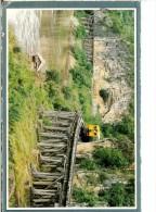 Thai Dead Realway Built Duriung World War 2nd At The Dangerous Curve At Kanchanakuri- Timbre Verso - Thaïlande