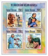 GUINEA BISSAU 2013 - Mother Teresa, N. Mandela - YT 5161-4; CV = 16 € - Mother Teresa