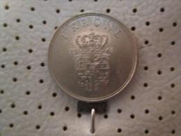DENMARK 1 Krone 1963   # 4 - Denmark