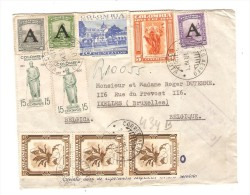 Colombia Air Mail Cover C.Bogota 1951 To Belgium PR2591 - Colombie