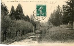 LA FERTE MILLON Aisne à MEAUX Seine Et Marne CONVOYEUR LIGNE Avril 1910 Sur Semeuse Cpa LIZY SUR OURCQ  Ecluse  ....G - Railway Post