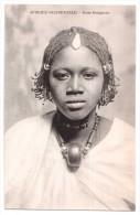 Afrique Occidentale - Jeune Sénégalaise - édit. Non Identifié  + Verso - Senegal