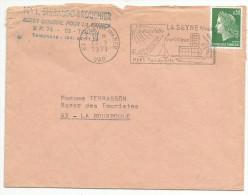 FLAMME DE LA SEYNE SUR MER - VAR 1971 - Postmark Collection (Covers)