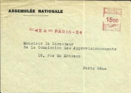 EMA Devant Lettre   Assemblée Nationale 1949 Paris  B 171 - EMA (Print Machine)