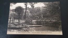 CPA 77 - SEINE ET MARNE - COMBS LA VILLE Bords De L' Yerres Pont De Vaux La Reine - éd° Thibault - Combs La Ville