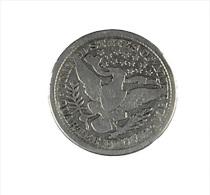 Quater De Dollar - Barber - USA - Argent - 1897 - TB - Federal Issues