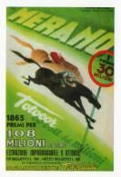 [DC1527] CARTOLINEA - LOTTERIA DI MERANO - LOCANDINA 1950 - ILLUSTRAZIONE MANCIOLI (45) - Cartoline