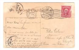US Stamp Washington On PC Chief Seattle C.San Francisco 1908 To China Belgian Engineer PR2596 - Etats-Unis