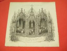 Souvenir De 1ére Communion/Eglise Saint Pierre De Dreux /Diocése De Chartres/Eugéne LOISEAU/1860   DIP66 - Religión & Esoterismo