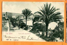 LOL103, San Remo, Corso Dell' Imperatrice, Animée, Precurseur, Circulée 1904 - San Remo