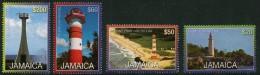 Jamaica (2012) Yv. 1175/78  /  Leuchtturm - Faro - Phare - Lighthouse - Vuurtorens