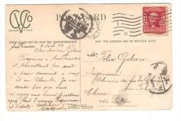 US Stamp Washington On PC Chinese Drugstore C.San Francisco 190ç To China Belgian Engineer PR2599 - Etats-Unis