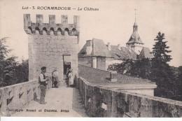 Cp , 46 , ROCAMADOUR , Le Château - Rocamadour