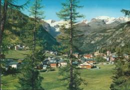 CHAMPOLUC - PANORAMA SFONDO  MONTE  ROSA - VIAGGIATA - - Italia