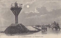 Noirmoutier 85 -  Passage Du Goa - Lanterne Lune  - Cachets 1922 Saint Jean De Monts  La Caillère - Noirmoutier