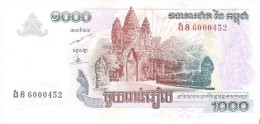 Cambodia - Pick 58b - 1000 Riels 2007 - Unc - Kambodscha