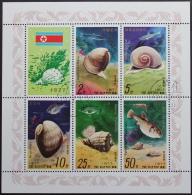 Noord Korea, Schelpen En Vissen - Korea (Noord)