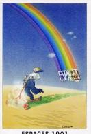 """ILLUSTRATEUR /  CABANNES  / """"      ILL 344  """"  ESPACE 1901 1989     CPSM 10 X 15   NEUVE - Illustrateurs & Photographes"""
