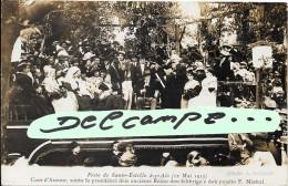 TOP carte-photo Fr�d�ric Mistral avec autographe (voir description) Festo de Santo-Estello(12 mai 1913) Photo A.Guittard
