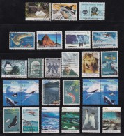 AUSTRALIA-ANTARCTIC, Small Lot Of 25 Cancelled Stamp(s) #30 - Australia