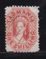 AUSTRALIA-TASMANIA,  Cancelled Stamp 1SH Orange, MInr. 141  # 87 - 1853-1912 Tasmania