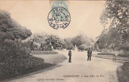 Compiegne  - Une Allée Du Parc  - Scan Recto-verso - Compiegne
