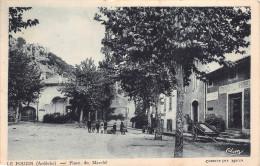 07 - Le Pouzin - La Place Du Marché Animée - Arnaud Primeur - Le Pouzin