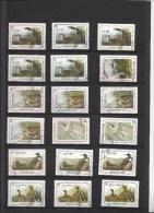 A SAISIR - Joli Lot De 50 Timbres République D´  HAITI Thème OISEAUX : Canard, Hiboux, Pelican Et Autres - Tous Scannés - Unclassified