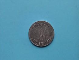 NO VALUE 1 AMUSEMENT ( Zilverkleur 8.2 Gr. - For Grade And Details, Please See Photo ) - Jetons & Médailles
