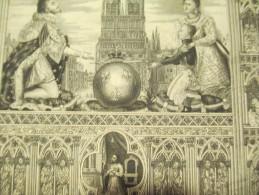 Notre Dame De Paris Et La Famille Royale / 18éme Siécle ? 19 Eme Siécle ?     DIP81 - Religión & Esoterismo