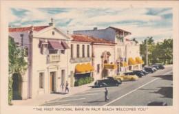 Florida Palm Beach The First National Bank 1943 - Banks