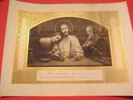 Souvenir De 1ére Communion /Jésus/ Paul Lacoud/ Bouasse/ 1937   DIP90 - Religion & Esotericism
