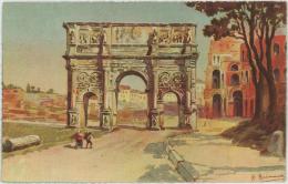 QUINA  SERRAVALLO - Roma Arco Di Costantino – Trieste - Italy - Italien