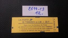 Carnet  N° 2614-C3 Neuf ** à 20% De La Cote  TTB - Definitives