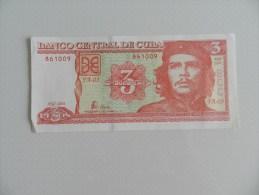 Billet   3 Pesos  De Cuba  861009 - Cuba