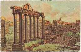 QUINA  SERRAVALLO - Roma  Foro Romano  – Trieste - Italy - Italien