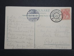 PAYS-BAS - Carte De Zandvoort Pour Colmar (France) - Bien Marquée - Juil 1906 - A Voir - P15149 - Periode 1891-1948 (Wilhelmina)