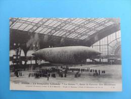 """967. PARIS - Le Dirigeable Lebaudy """"Le Jaune"""" Dans La Galerie Des Machines. - Airships"""
