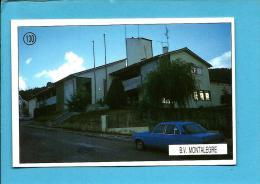 B. V.  MONTALEGRE - Bombeiros Voluntários ( Quartel ) - 1992 Pocket Calendar N.º 130 - Portugal - Calendarios