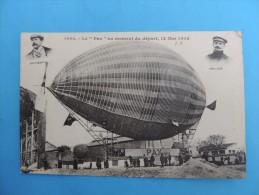 """1003. Le """"Pax""""  Au Moment Du Départ ,12 Mai 1902. - Airships"""