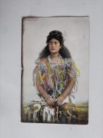 Carte Postale Ancienne : SAMOAN Beauty, Stamp 1907 - Samoa