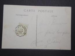 MONACO - Carte Pour Paris - Juin 1904 - A Voir - P15151 - Monaco