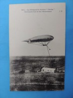 "981. Le  Dirigeable Italien "" Italia "" évoluant Sur Le Lac Bracciano. - Airships"