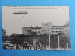 """992. Passage Du   Dirigeable Militaire  Italien """" Italia """"  Sur Le Forum. - Airships"""