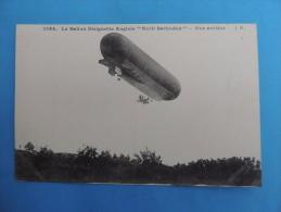 "1023. Le Ballon Dirigeable Anglais "" Nulli Secundus "" - Vue Avant. - Airships"