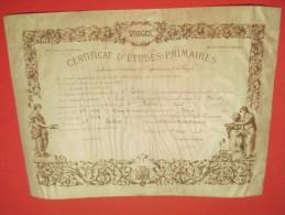Certificat D'Etudes Primaires/ Département Des Vosges /Ecole De GRUEY/Epinal / Paul LUTIN/ Gentil/1903      DIP116 - Diplômes & Bulletins Scolaires
