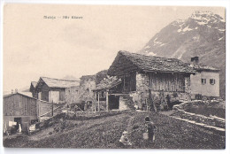 MALOJA: Aussenquartier Animiert ~1910 - GR Grisons