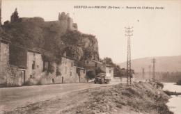 26 SERVES-sur-RHONE  -Ruines Du Château Féodal   PAS COURANT   1940 - Francia